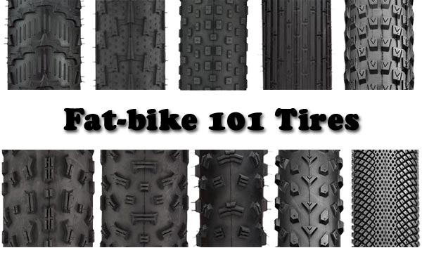 Fat-bike 101 – Tires | FAT-BIKE COM