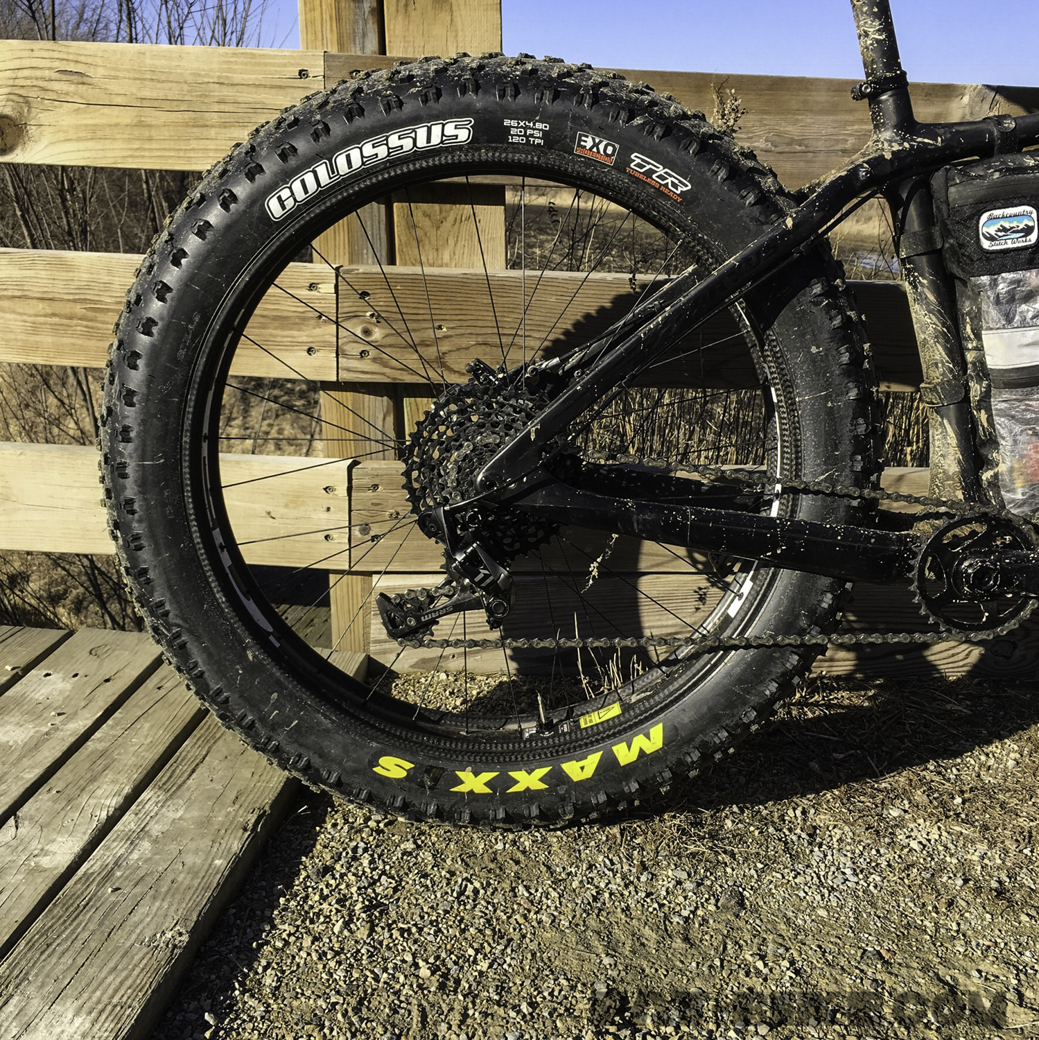 Maxxis Colossus 26 X 4 8 Snow Tire Review Fat Bike Com